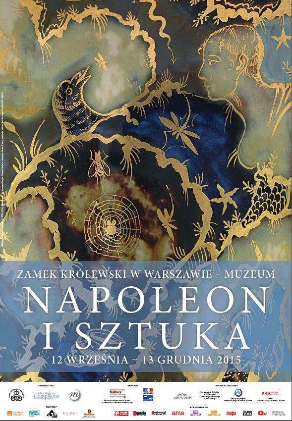 Napoleon i sztuka - plakat wystawy | materiały organizatora