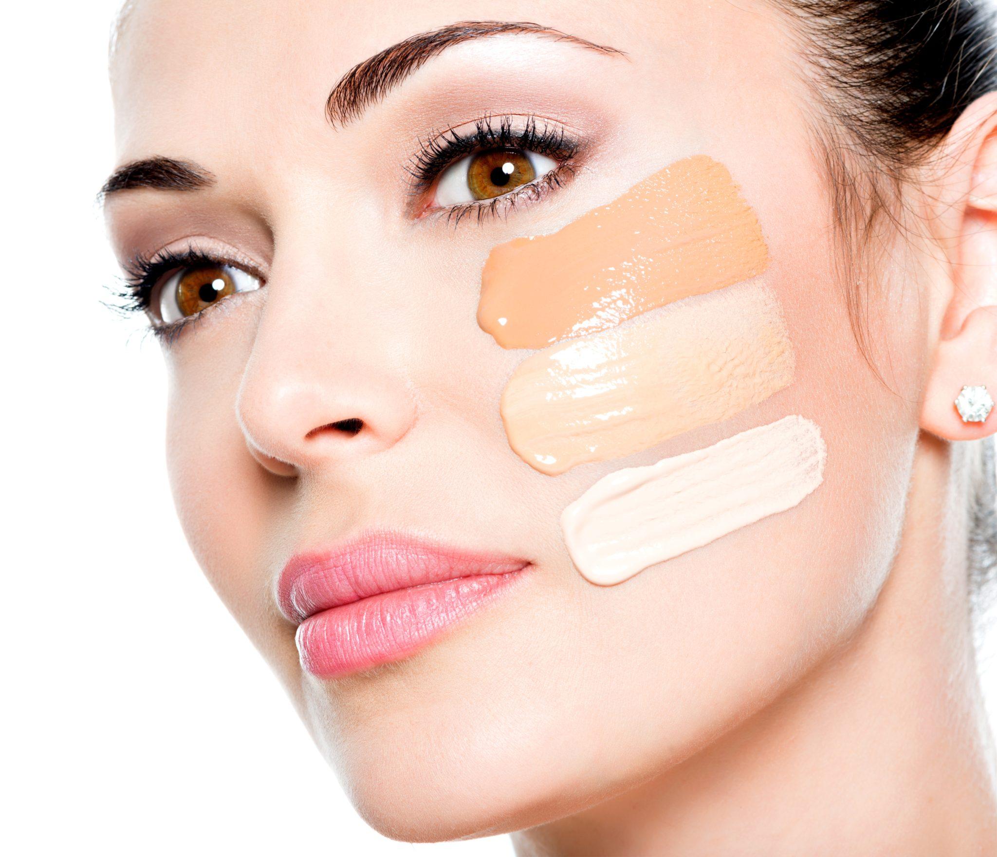 wybór odpowiedniego podkłądu pod makijaż
