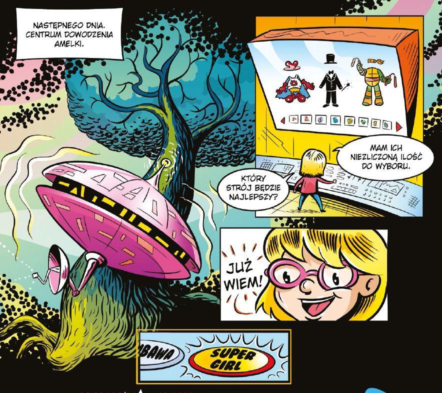 komiks Amelka vs. Mozaika