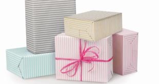 Prezenty zapakowane w elegancki papier