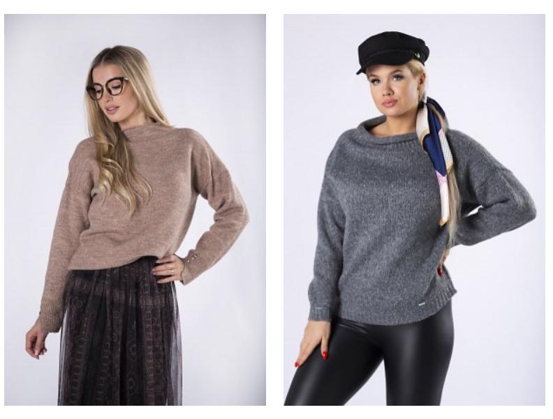 stylowe swetry damskie