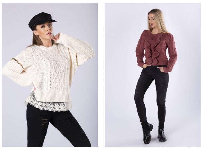 swetry damskie modne