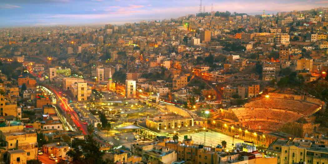 Amman stolica Jordanii