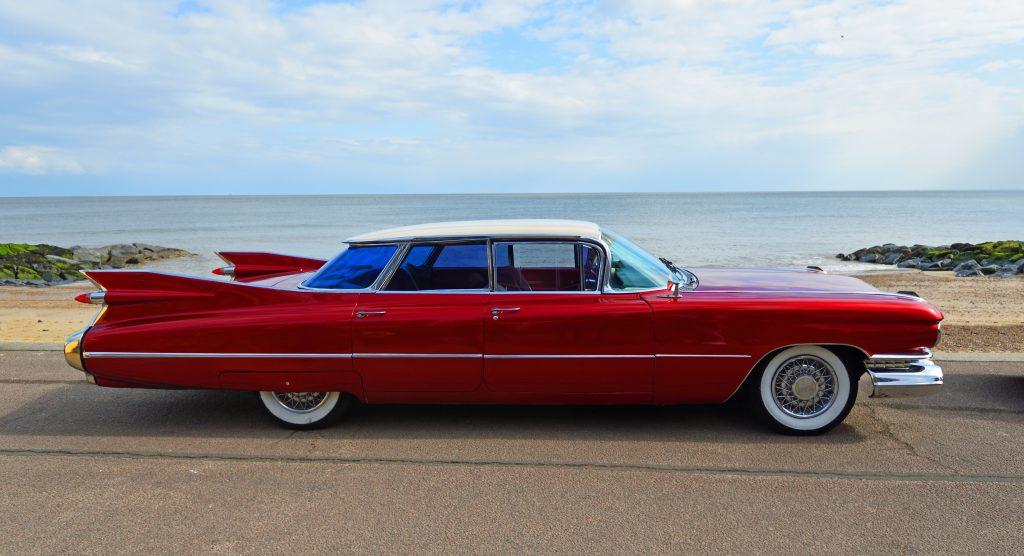 1950 4 drzwiowy Cadillac