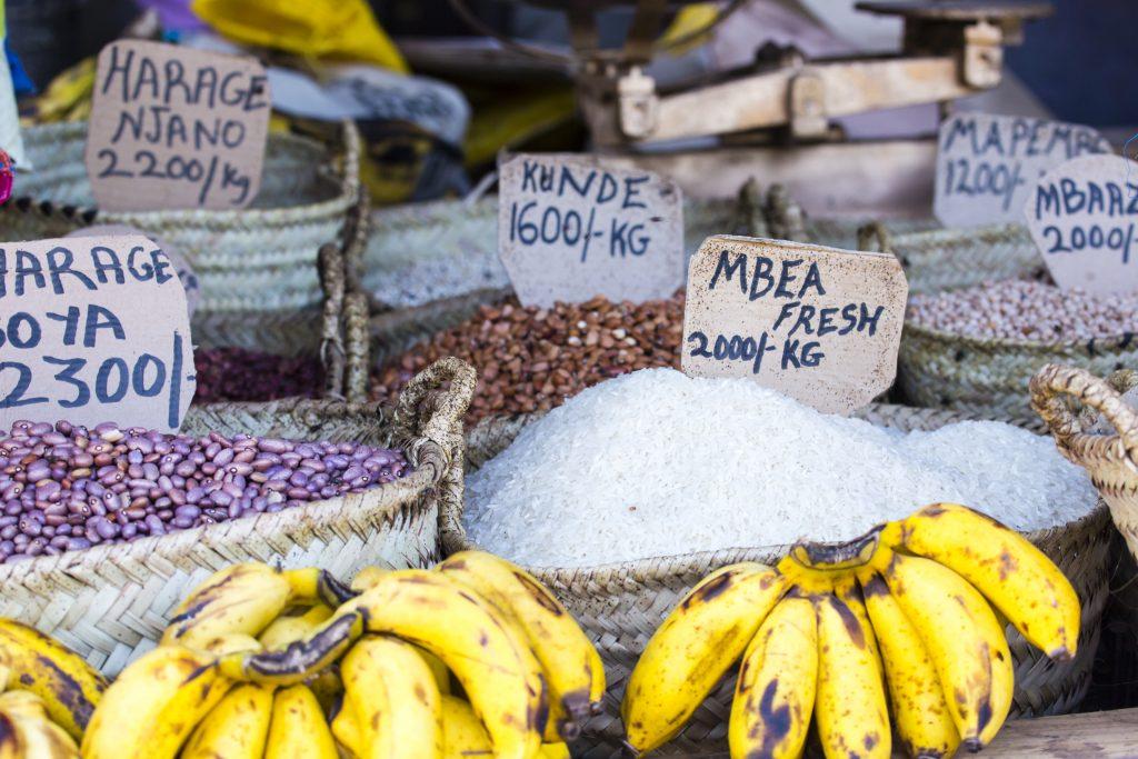 market na Zanzibarze
