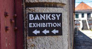 wystawa prac Banksy'ego