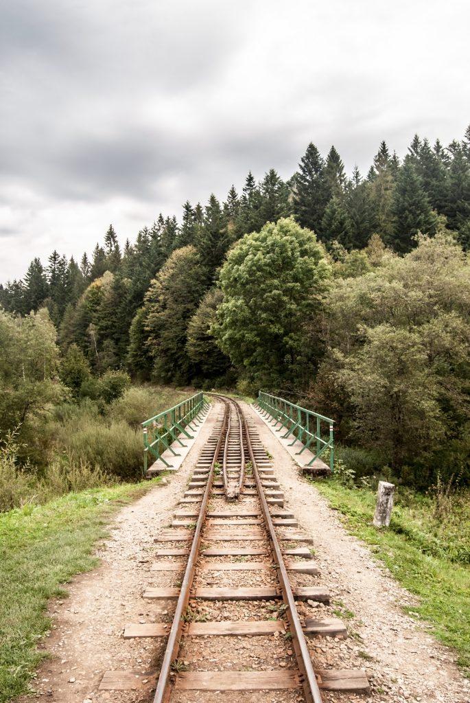Bieszczadzka Kolejka Leśna w Cisnej