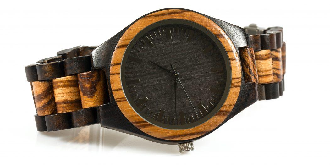 zegarek drewniany