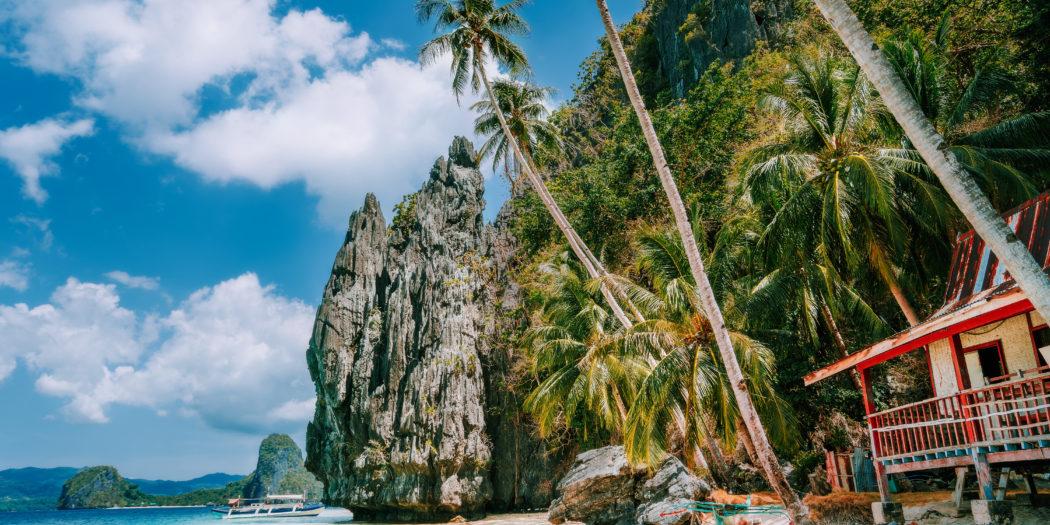 Palawan - El Nido plaża na Filipinach