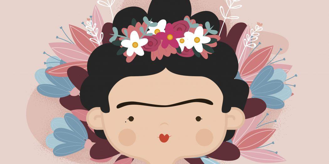 Frida Kahlo ilustracja z książki dla dzieci