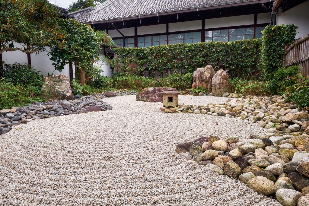 karesansui ogród w stylu zen
