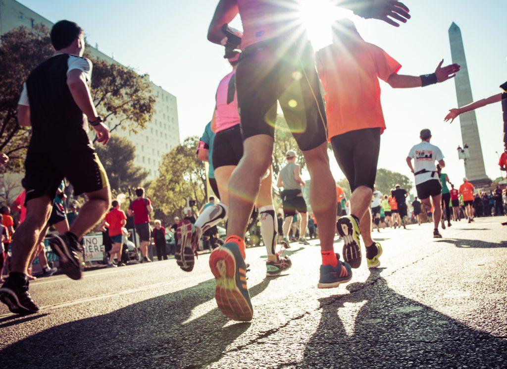 maraton przybijanie piąteczek