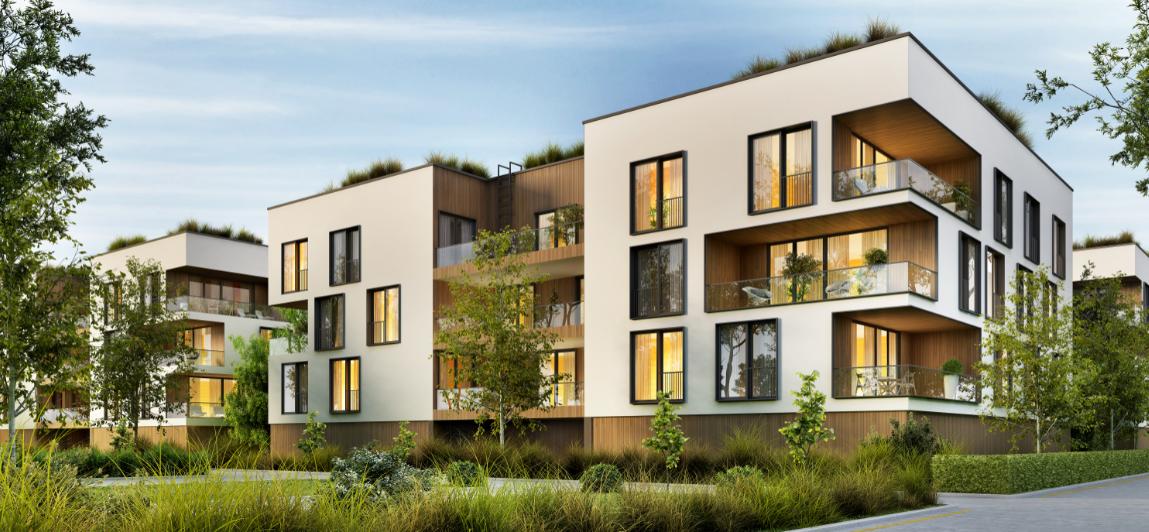 nowoczesne osiedle mieszkaniowe