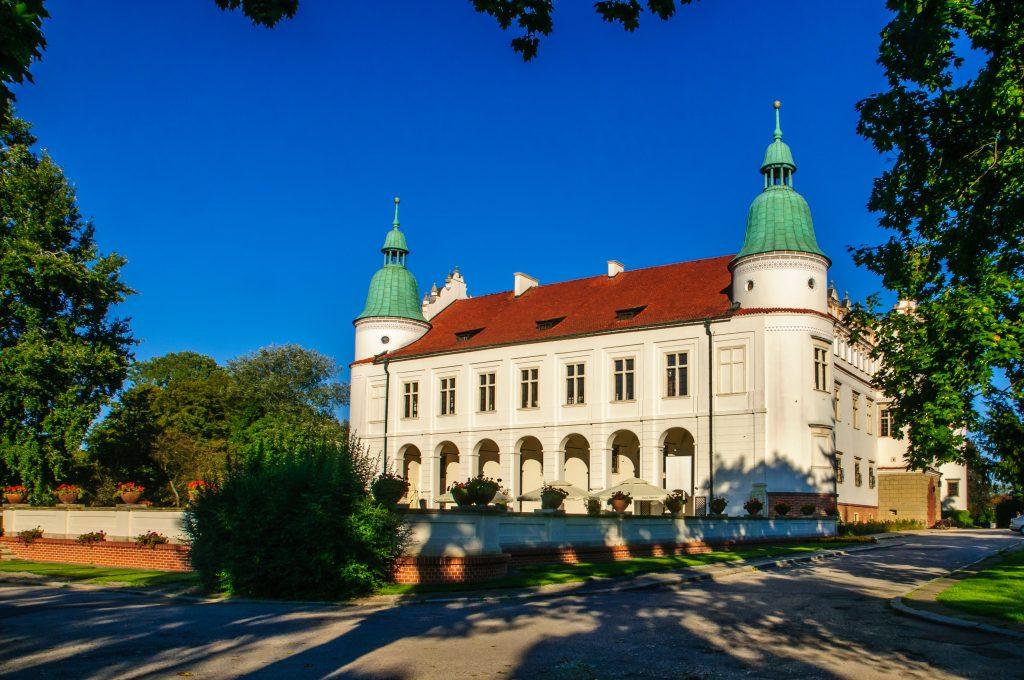 Renesansowy pałac w Baranowie Sandomierskim