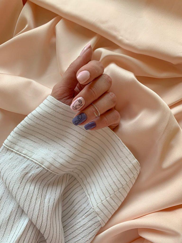 paznokcie manicure