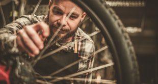 przegląd roweru w serwisie