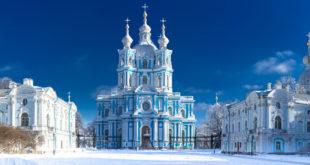 Sankt Petersburg Monaster Smolny