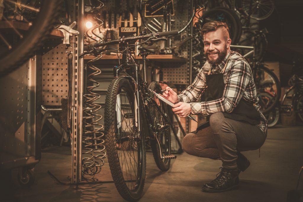 serwis rowerowy rower