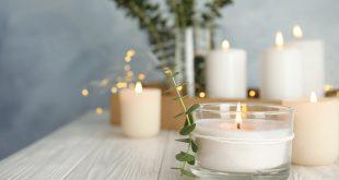świece w domu