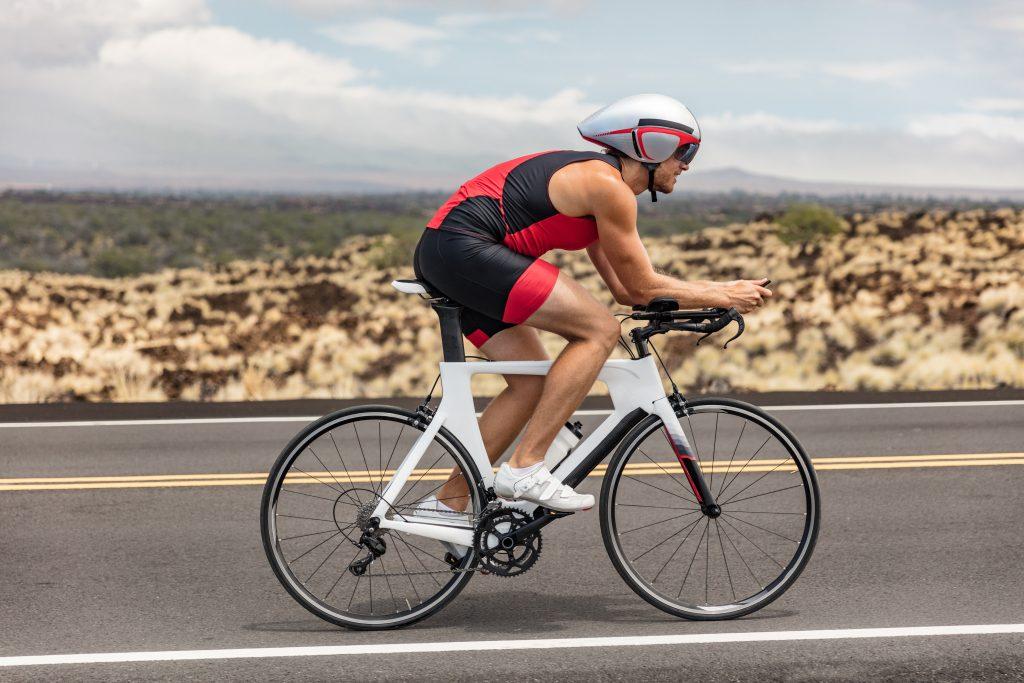 Triathon jazda na rowerze