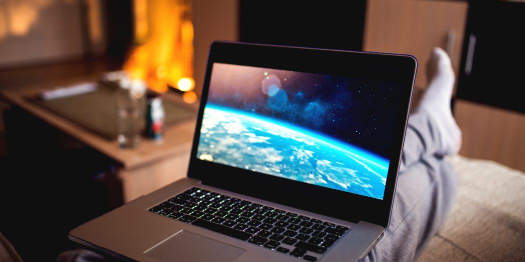 vod na laptopie