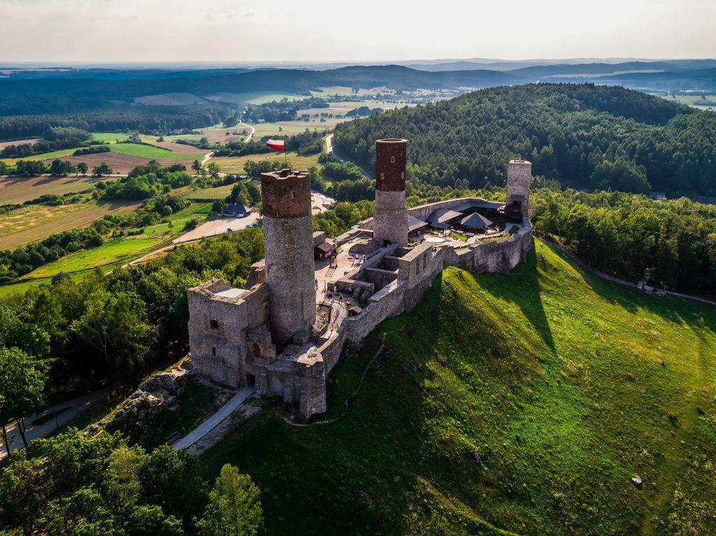 Chęciny Zamek Królewski
