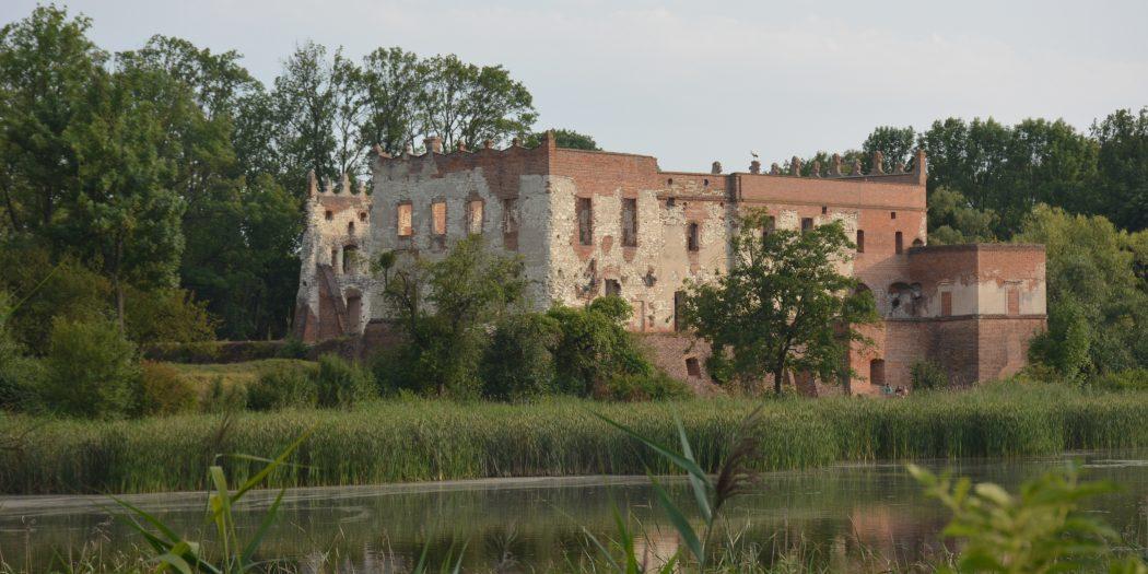 Ruiny zamku w Krupe woj. lubelskie