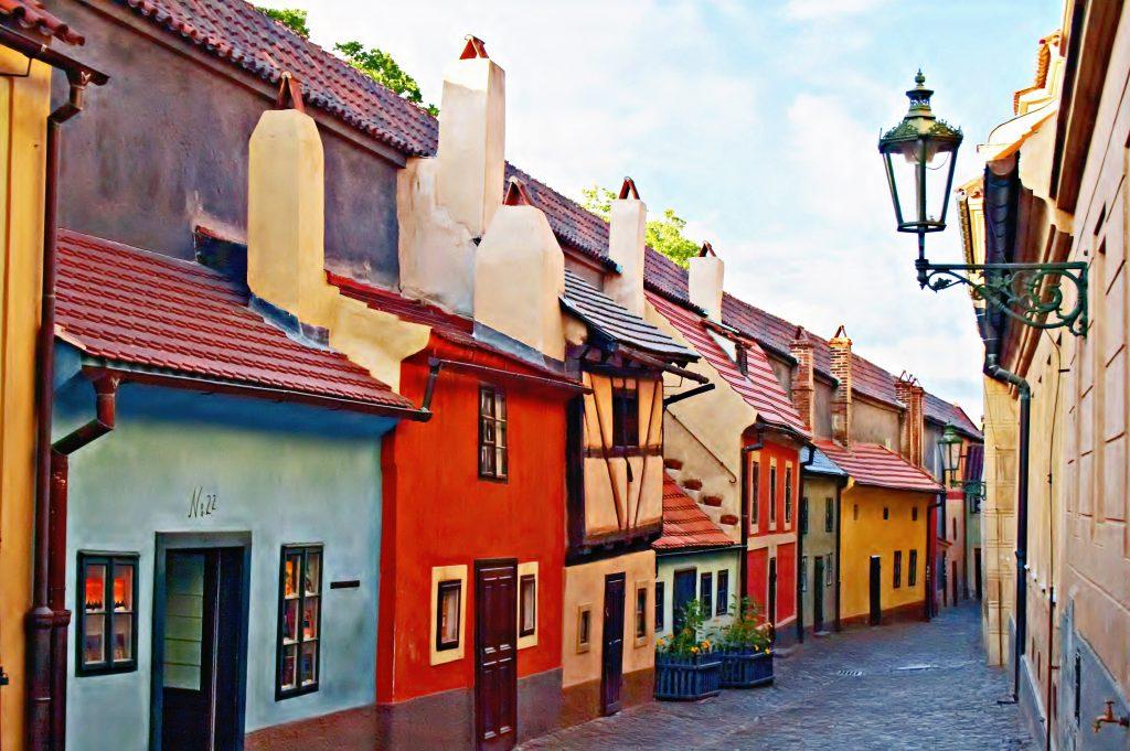 złota uliczka
