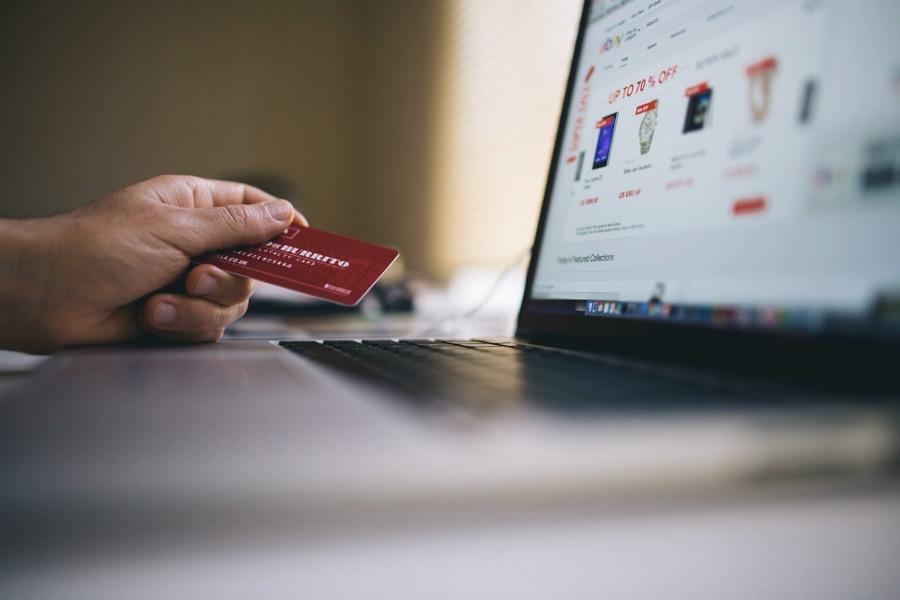 zakupy online z kartą kredytową