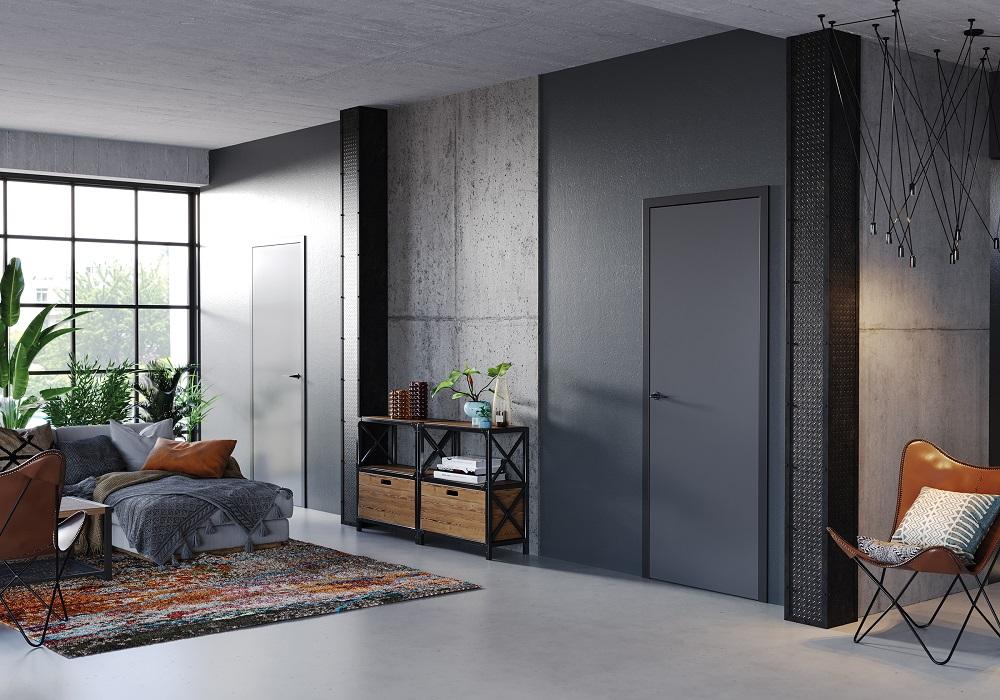drzwi kolor antracyt