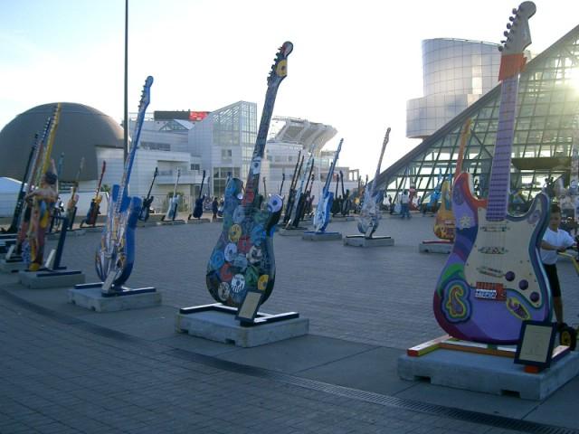 Muzeum Rock and Rolla w Cleveland, Ohio