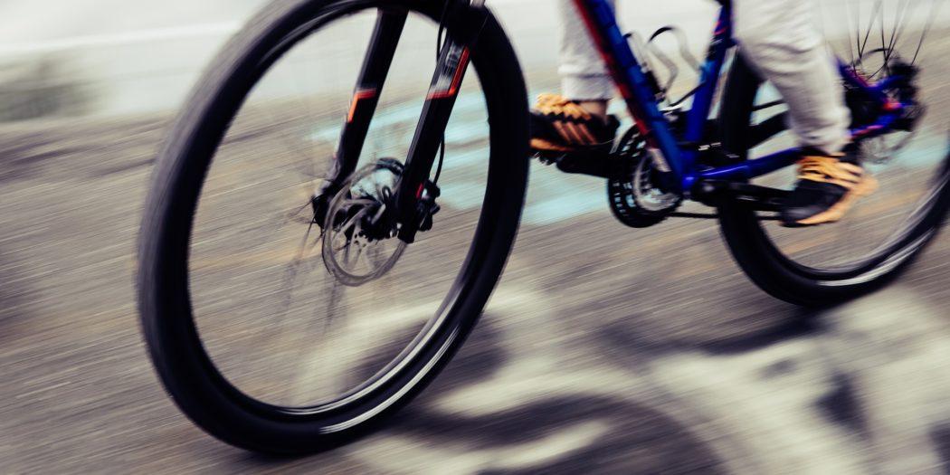 zbliżenie na rower