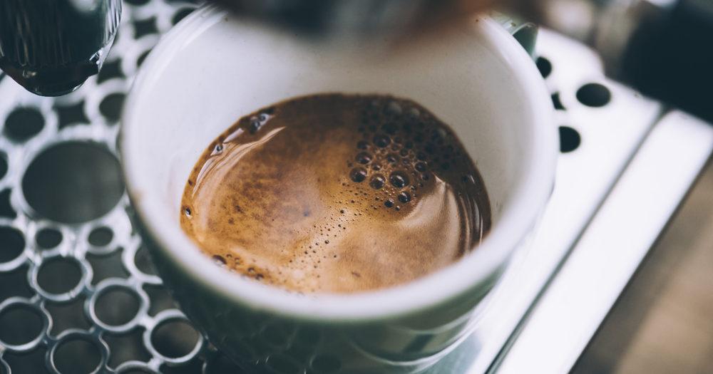 espresso w filiżance