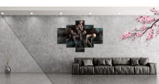 fotoobraz w loftowym wnętrzu