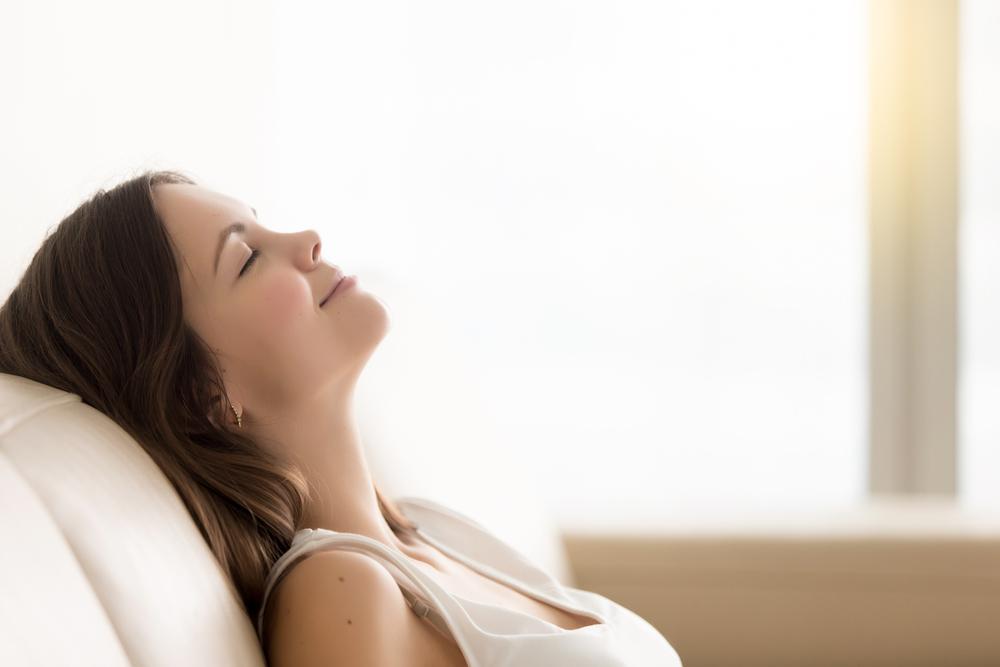 kobieta relaks
