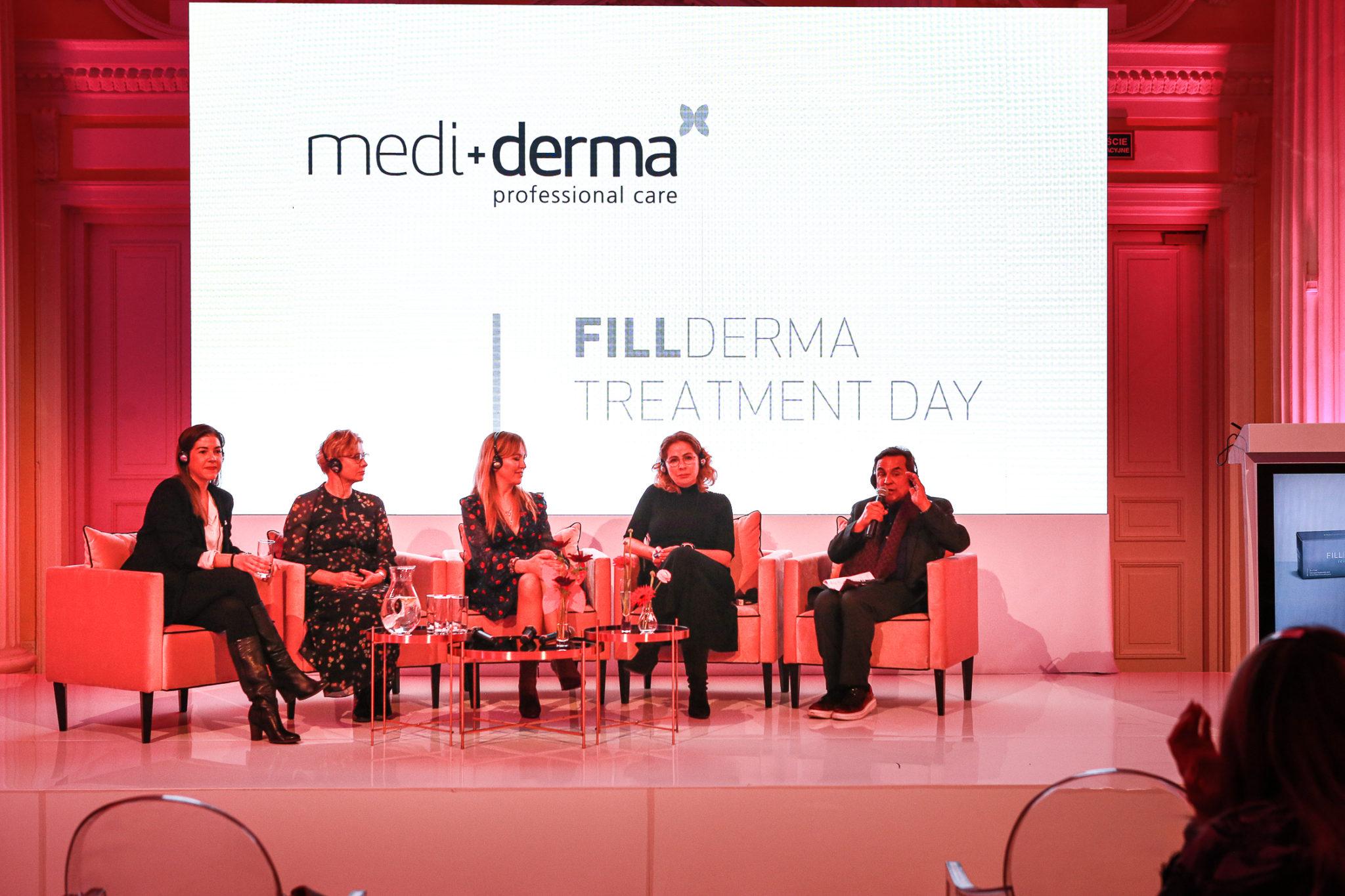 dr Carmen Faus, dr Elżbieta Kowalska – Olędzka, dr Aleksandra Jagielska, dr Ewa Rybicka, dr Gabriel Serrano (twórca marki Mediderma i Sesderma)