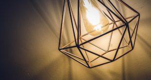 lampa ze stali nierdzewnej