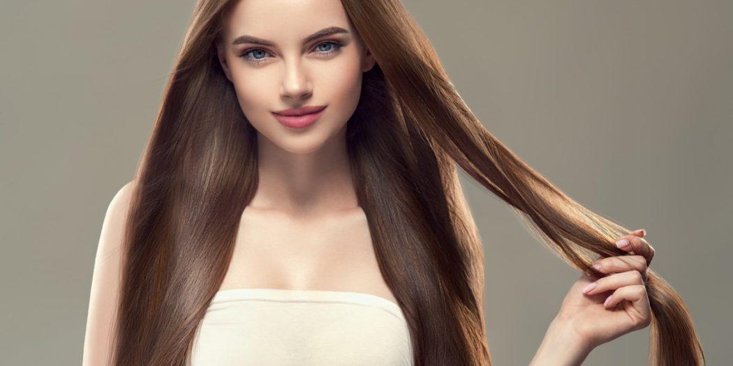 naturalne piękne długie włosy