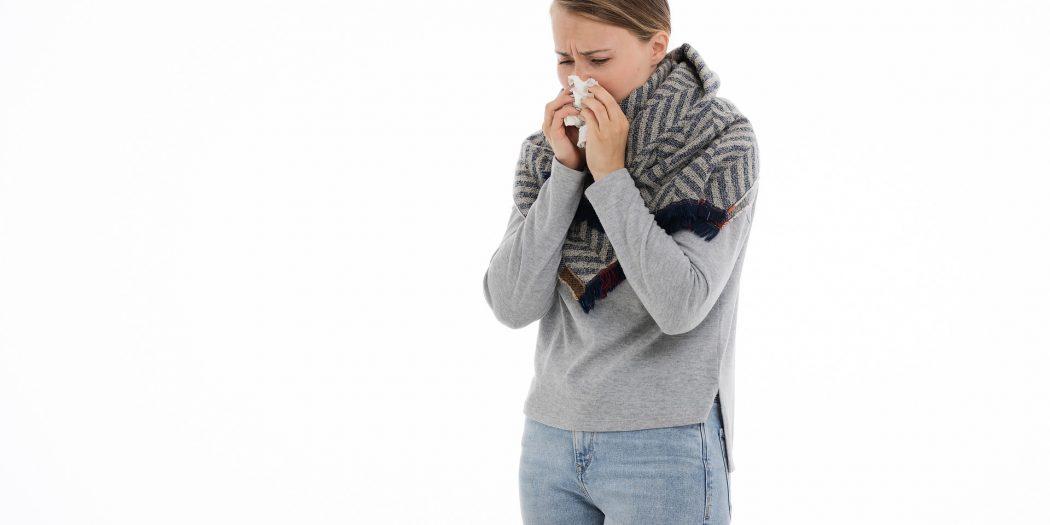 odporność kobieta z infekcją