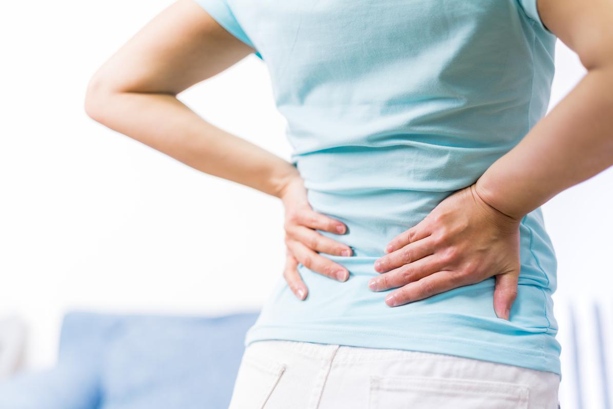 ostry ból pleców