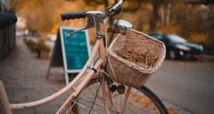 stylowy rower miejski