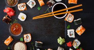 sushi z kremowym serkiem