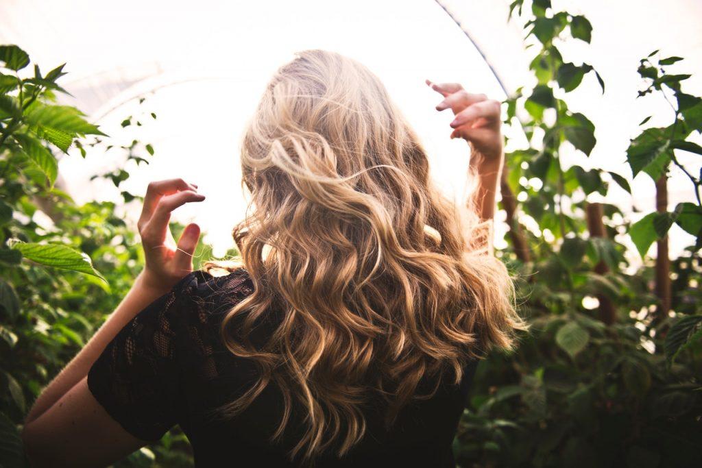 piękne zadbane włosy