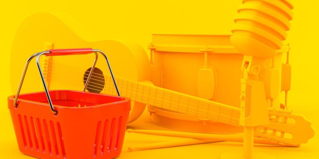 muzyka w placówce handlowej