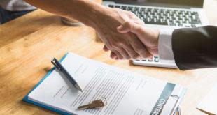 Leasing, wynajem - podpisywanie umowy