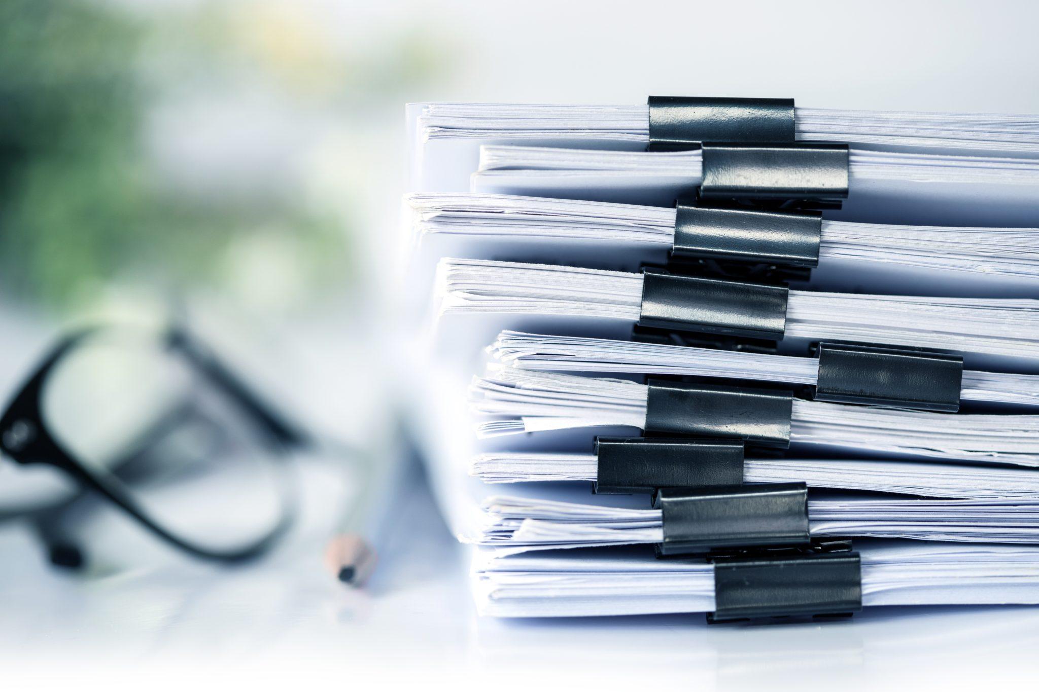 Dużo dokumentów