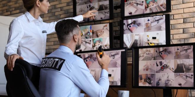 ochrona budynku przed ekranami monitoringu