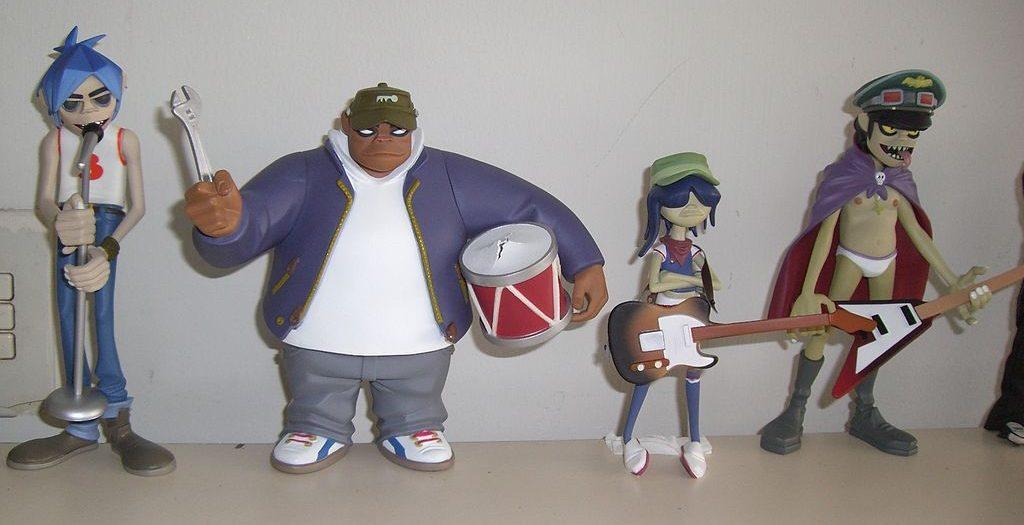 Wielki come-back rysunkowej ekipy muzycznej - Gorillaz!