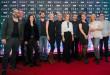 """Konferencja prasowa serialu HBO """"Pakt"""" - na zdj. twórcy i aktorzy   fot.: Dominik Jakubowski"""