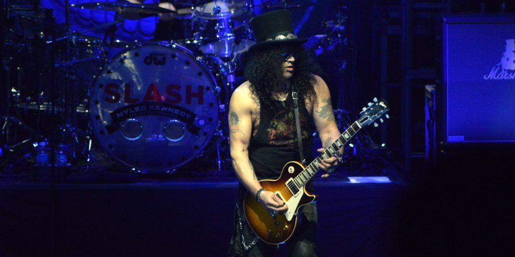 Slash na koncercie